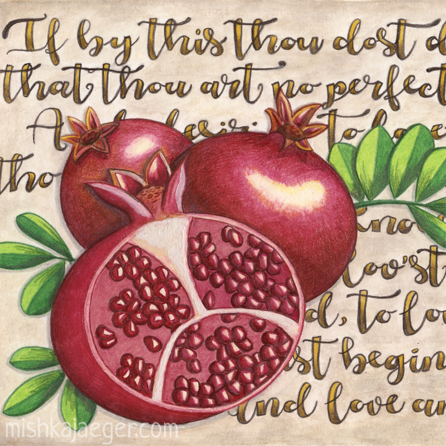 Pomegranate Love Anew